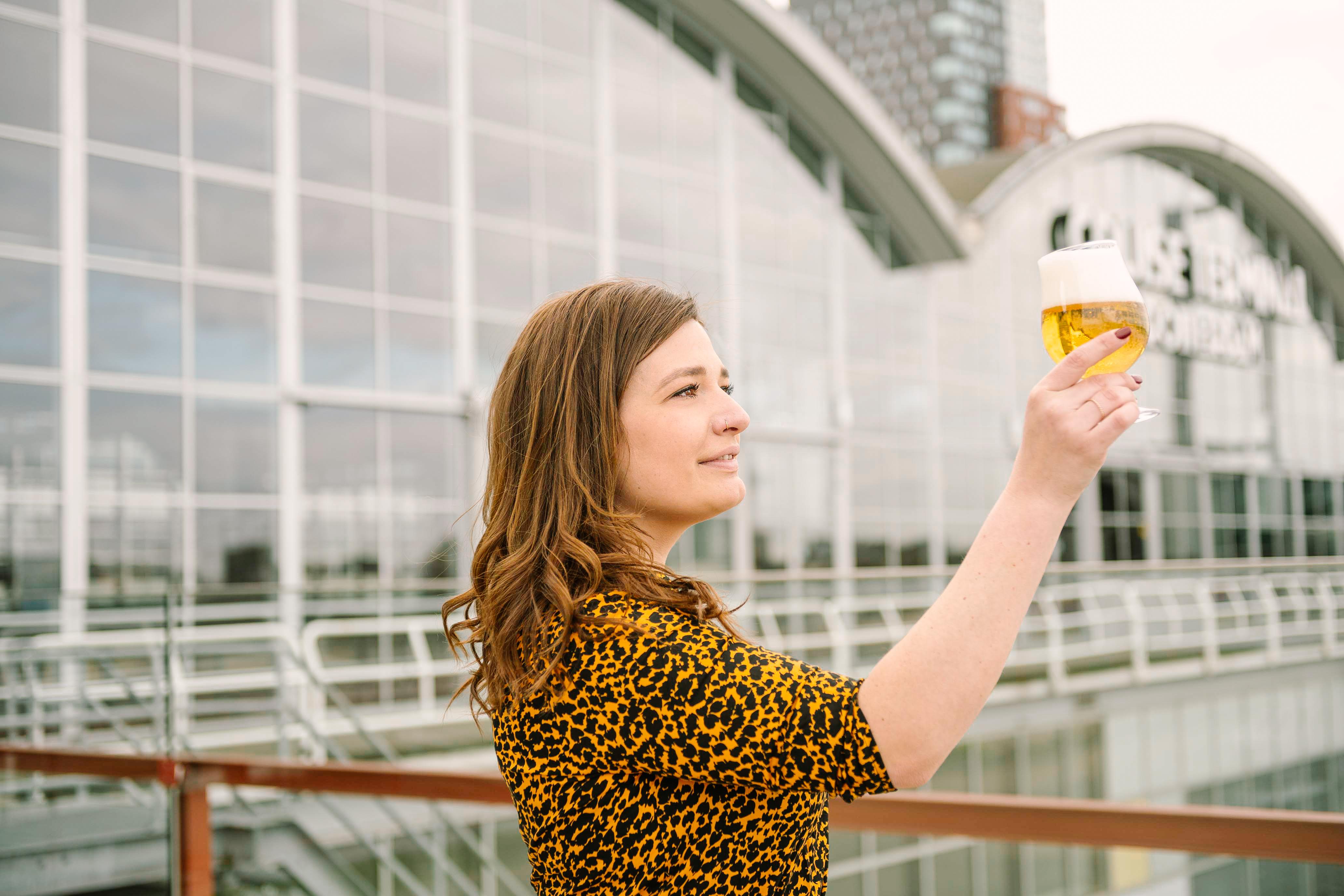 De biervrouw