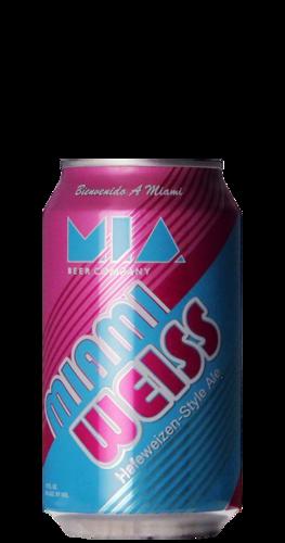 MIA Brewing Miami Weiss