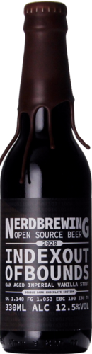 Nerdbrewing Indexoutofbounds Oak Aged Imperial Vanilla Stout Double Dark Chocolate Ed.