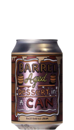 Amundsen Barrel Aged Dessert In A Can Rocky Road Ice Cream