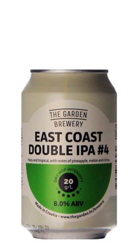 The Garden East Coast Double IPA #4