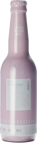 Dutch Bargain #5 Nitro Strawberry Milkshake Stout