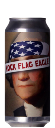 Brix City Rock Flag Eagle