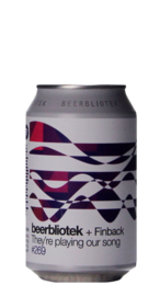 Beerbliotek / Finback They're Playing Our Song NEIPA