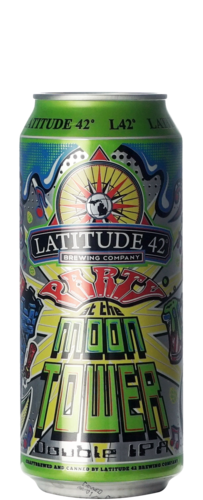 Latitude 42 Party At The Moon Tower DIPA