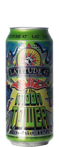 Latitude 42 Party At The Moon Tower DIPA