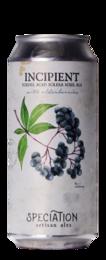 Speciation Artisan Ales Incipient (Elderberry)