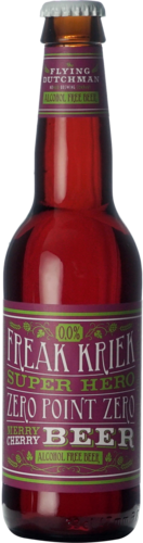 The Flying Dutchman Freak Kriek Super Hero Zero Point Zero Merry Cherry Beer 0.0%
