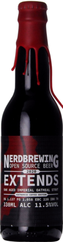 Nerdbrewing Extends Oak Aged Imperial Oatmeal Stout Vietnamese Coffee Edition