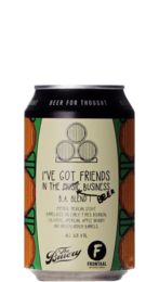 Frontaal / The Bruery I've Got Friends In The Music Business BA Blend I