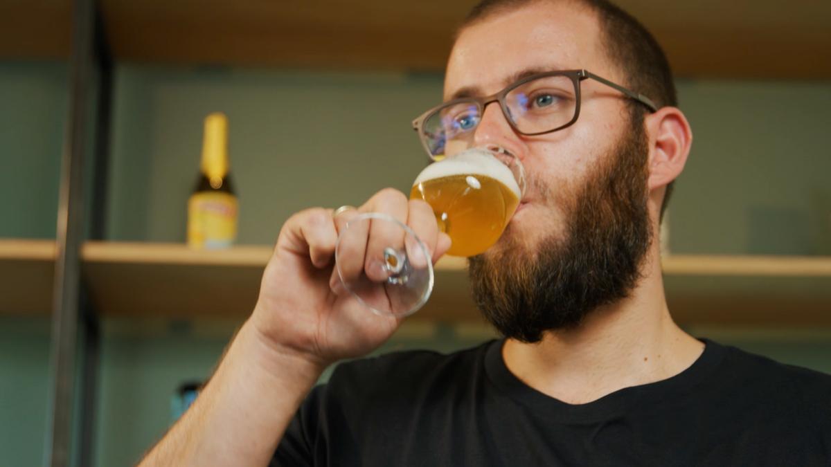 Wat gebeurt er na een slok bier?