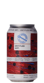 Untitled Art / Mikerphone TripleBerry Hazelnut Smoothie Stout
