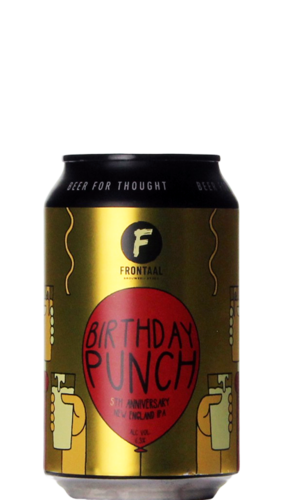 Frontaal Birthday Punch