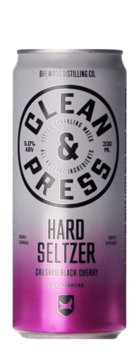 Brewdog Clean & Press Hard Seltzer Crushed Black Cherry