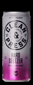 Brewdog Clean & Press Hard Seltzer Crushed Black Cherry