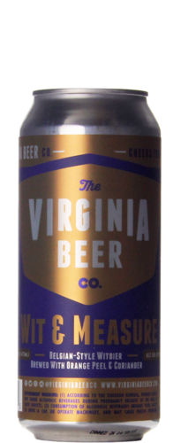 The Virginia Beer Company Wit & Measure