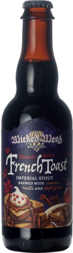 Wicked Weed Barrel Aged French Toast Imperial Stout 2018