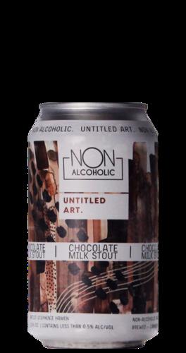 Untitled Art Chocolate Milk Stout NA