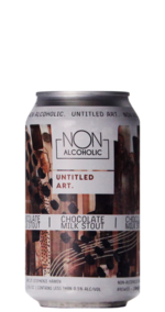 Untitled Art Chocolate Milk Stout NA