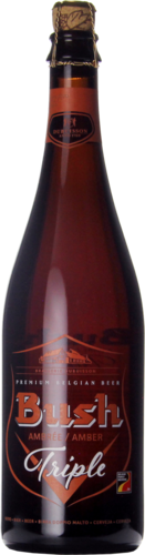 Brasserie Dubuisson Bush Amber Triple 75CL