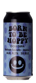 Monkey Browar Born To Be Hoppy DDH DIPA Nelson Sauvin Idaho 7