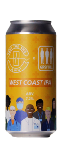 Gipsy Hill Buy The NHS A Pint: West Coast IPA