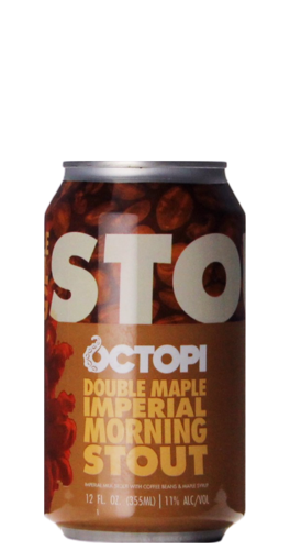 Octopi Brewing Double Maple Imperial Morning