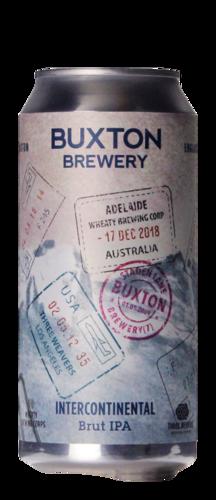 Buxton / Three Weavers / Wheaty Brewing intercontinental Brut