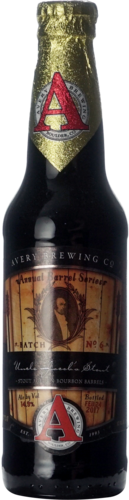 Avery Brewing Uncle Jacobs Stout 2017 Batch 6