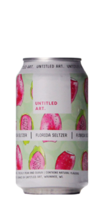 Untitled Art Florida Seltzer Prickly Pear Pink Guava