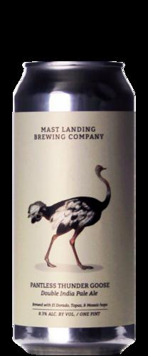 Mast Landing Pantless Thunder Goose