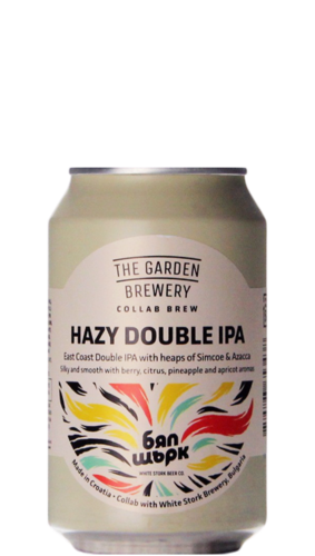 The Garden / White Stork Hazy Double IPA