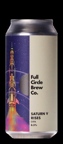 Full Circle Saturn V Rises
