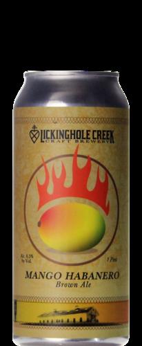 Lickinghole Creek Mango Habanero Brown Ale