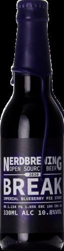 Nerdbrewing Break Imperial Blueberry Pie Stout