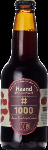 Haandbryggeriet / Del Ducato / Närke #1000 Amarone Barrel Aged Quad