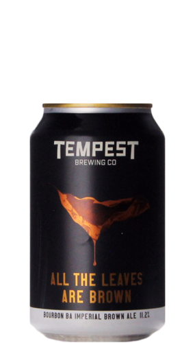 Tempest All The Leaves Are Brown Bourbon BA Blik