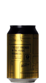 Frontaal / The Bruery I've Got Friends In The Music Business BLIK