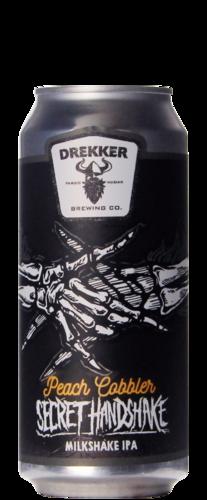 Drekker Brewing Secret Handshake Peach Cobbler