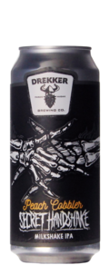 Drekker Brewing Secret Handshake Peach Cobbler