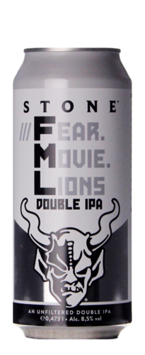 Stone Brewing ///Fear.Movie.Lions Double IPA