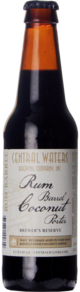 Central Waters Brewer's Reserve Rum Barrel Coconut Porter (2019)