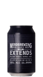 Nerdbrewing Extends Oak Aged Imperial Oatmeal Stout