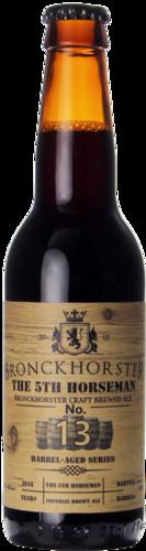 Bronckhorster Barrel Aged Serie No.13 The 5th Horseman (Imp. brown ale Martell cognac BA)