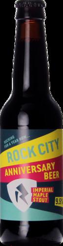 Rock City Brewing 1yr Anniversary Beer