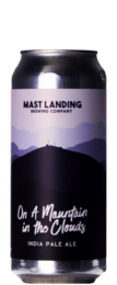 Mast Landing On A Mountain in The Clouds