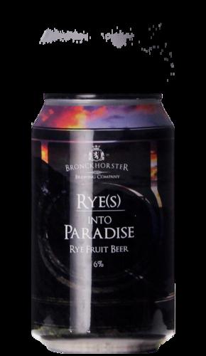 Bronckhorster Rye(s) Into Paradise