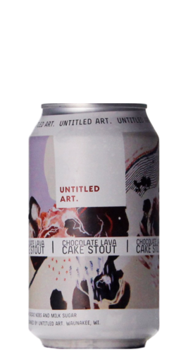 Untitled Art Chocolate Lava Cake Stout