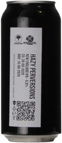 Moersleutel / Salama Hazy Perversions 440ml CROWLER