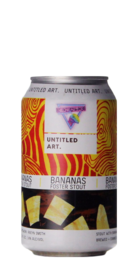 Untitled Art / Neon Raptor Bananas Foster Stout